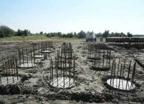 Construction status of the project «Construction of a diversion of 330 kV OHL Novokahovska – Khersonska»